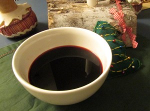 Christmas Eve borscht