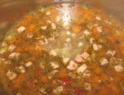 żurek fermented rye flour soup