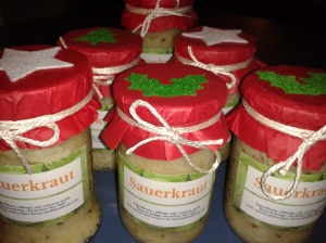 Christmas sauerkraut